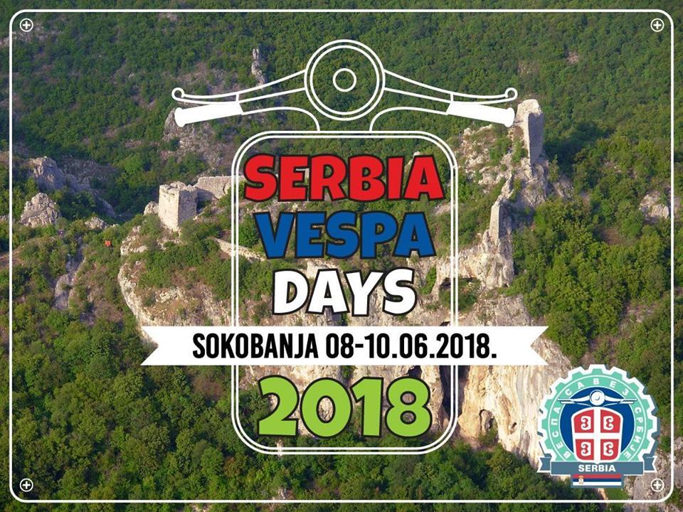 Serbia Vespa Days 2018