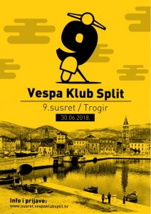 Susret Vespa kluba Split